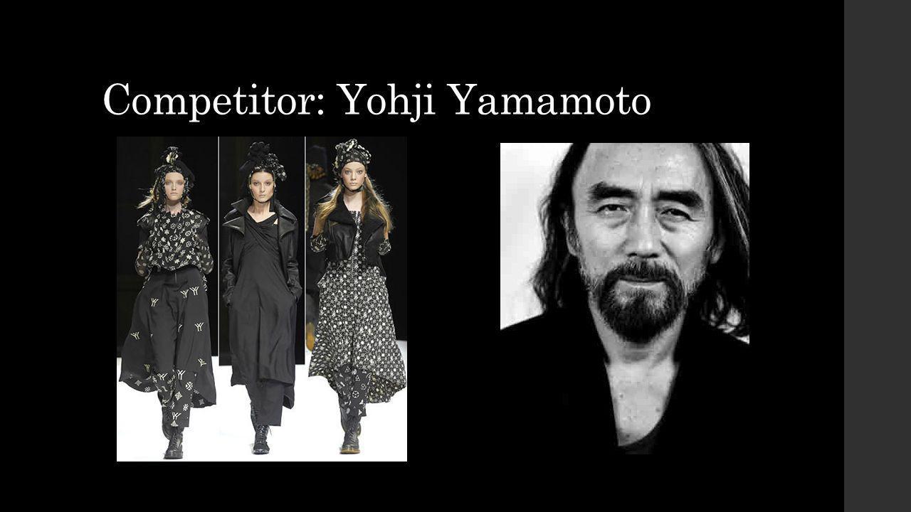 Competitor: Yohji Yamamoto