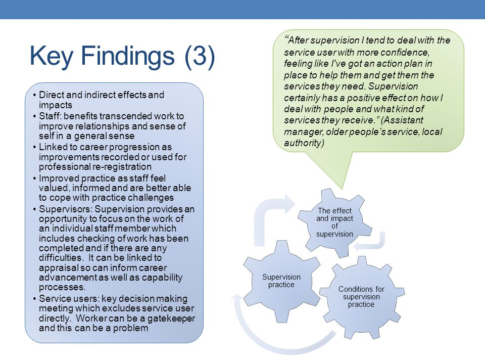 Key Findings (3)