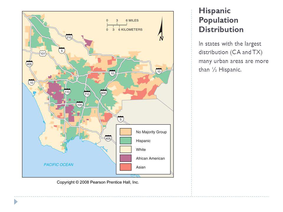 Hispanic Population Distribution