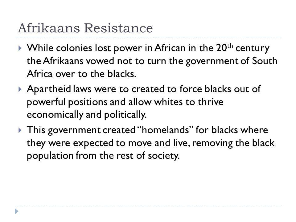 Afrikaans Resistance