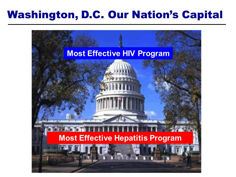 Most Effective HIV Program Most Effective Hepatitis Program