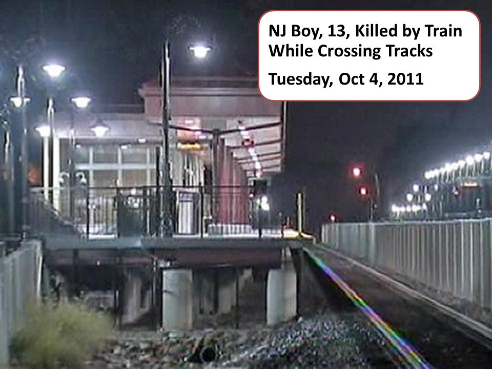 NJ Boy, 13, Killed by Train While Crossing Tracks