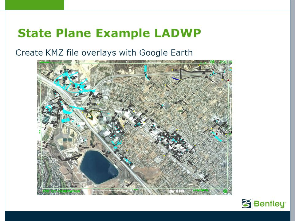 State Plane Example LADWP