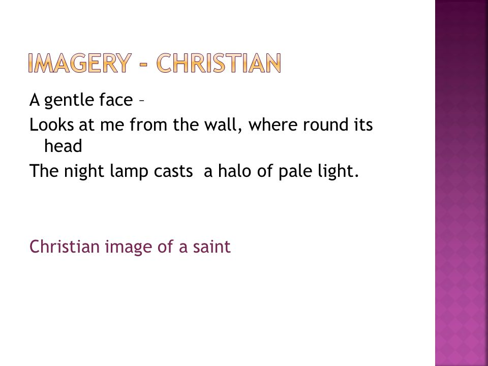 Imagery - Christian