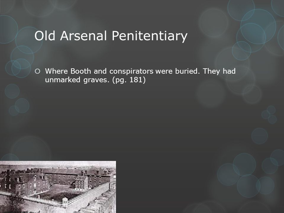 Old Arsenal Penitentiary