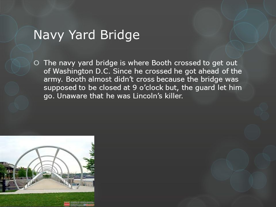 Navy Yard Bridge
