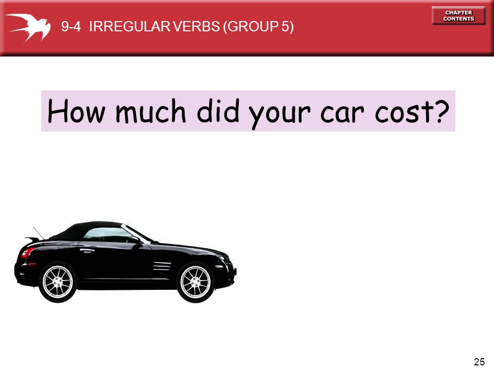 How much did your car cost