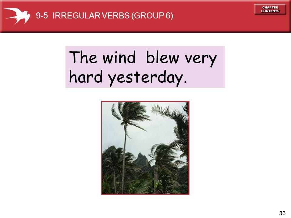 9-5 IRREGULAR VERBS (GROUP 6)