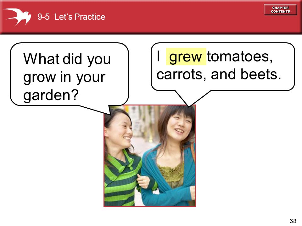 What did you grow in your garden