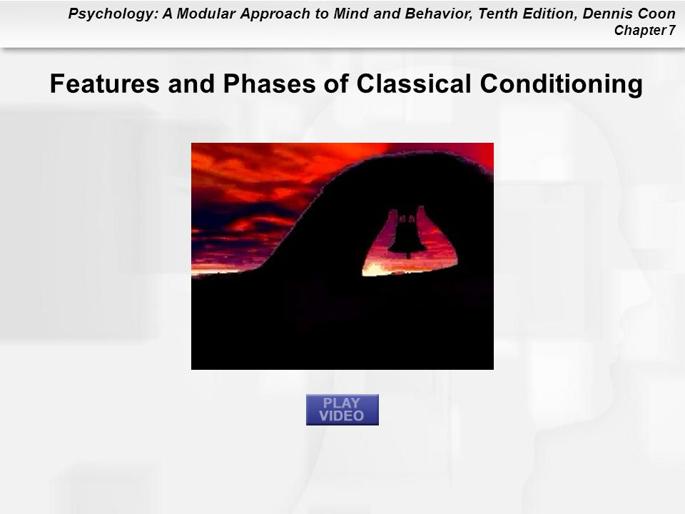 Features and Phases of Classical Conditioning