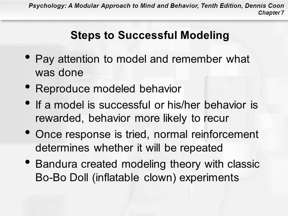 Steps to Successful Modeling