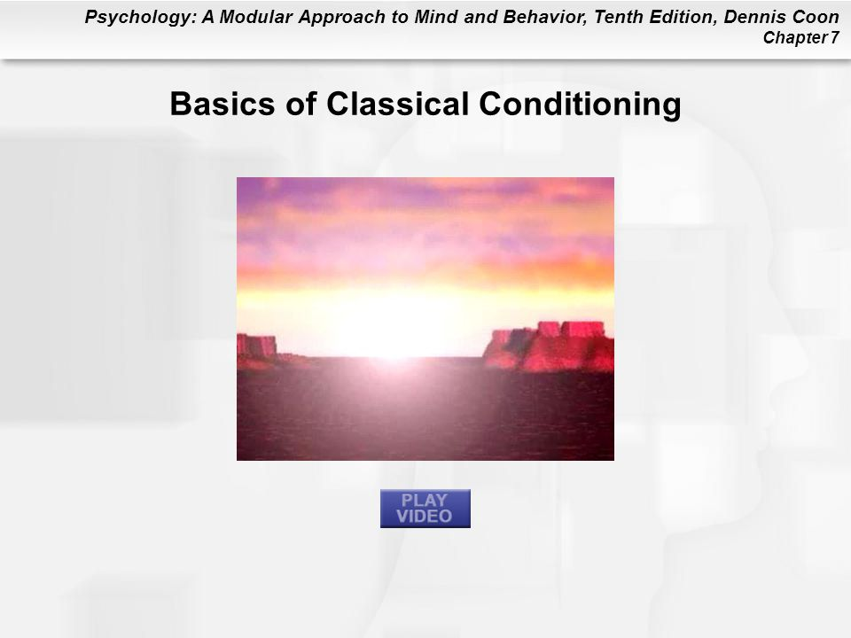 Basics of Classical Conditioning