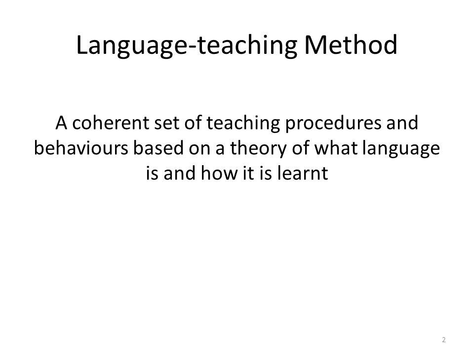 Language-teaching Method