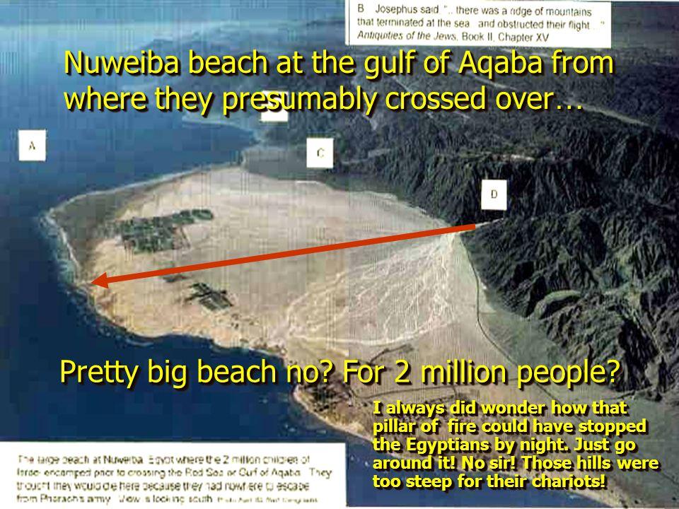 Pretty big beach no For 2 million people