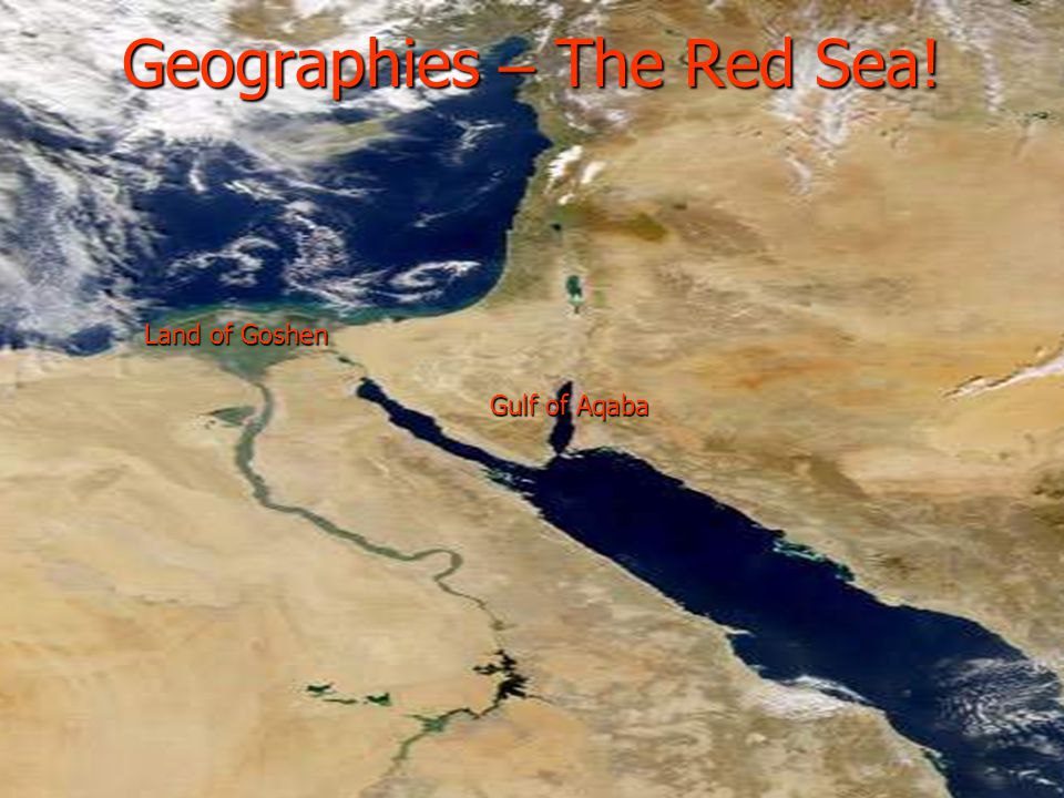 Geographies – The Red Sea!