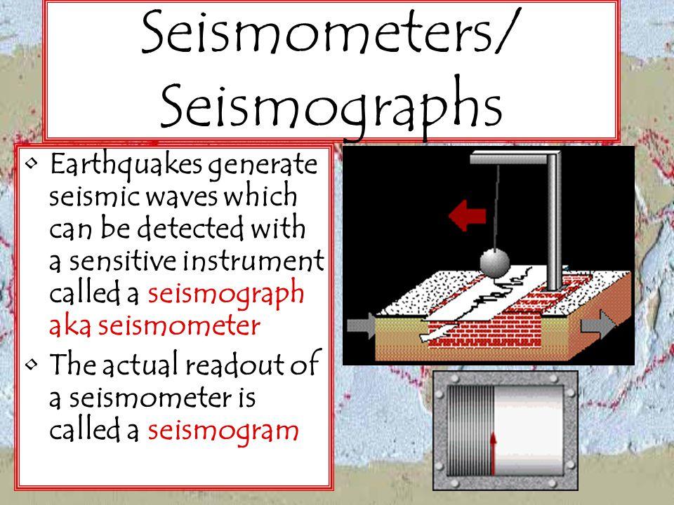 Seismometers/ Seismographs