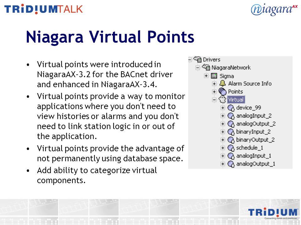 Niagara Virtual Points