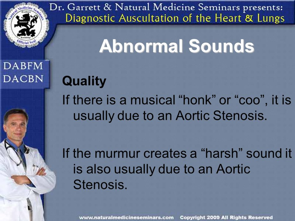 Abnormal Sounds Quality