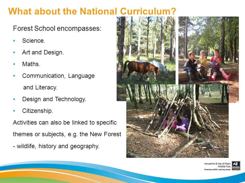 What about the National Curriculum