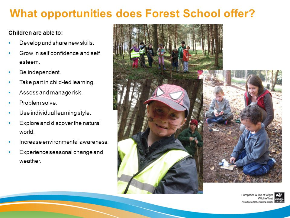 What opportunities does Forest School offer
