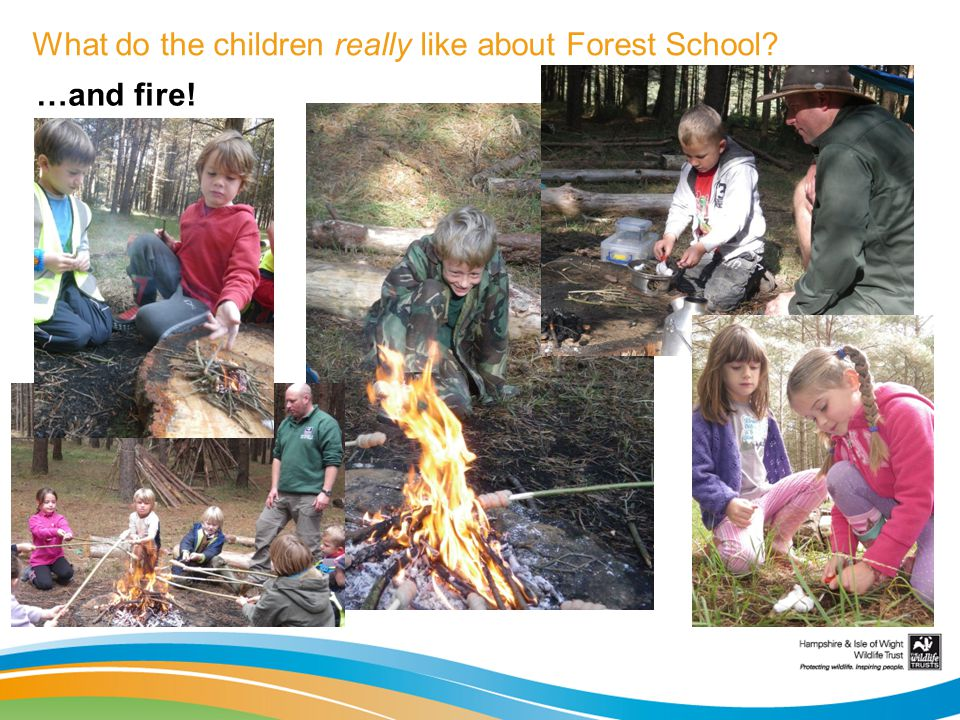 What do the children really like about Forest School