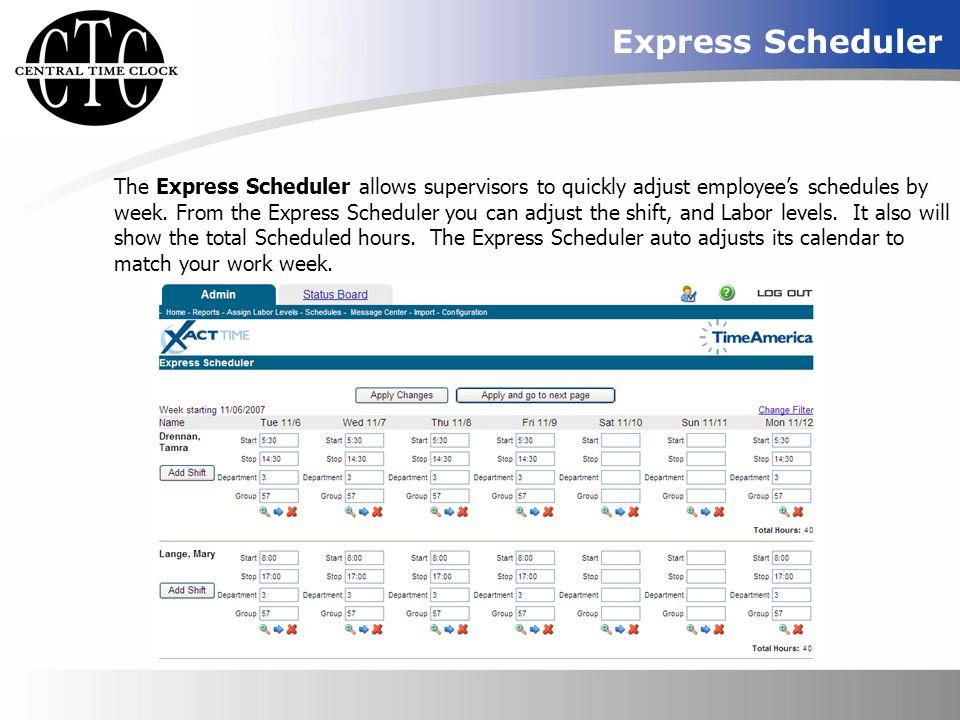 Express Scheduler