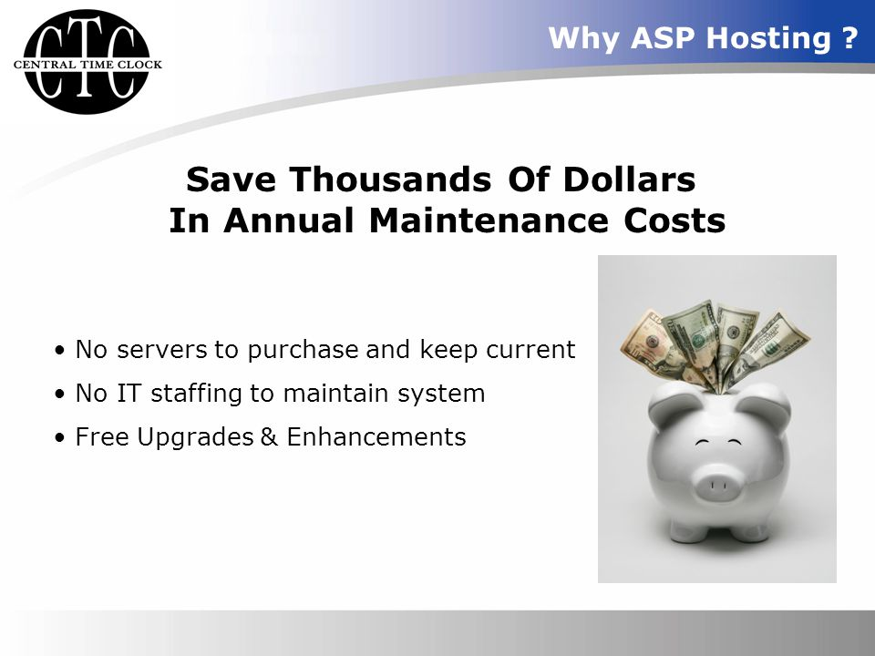 Save Thousands Of Dollars In Annual Maintenance Costs