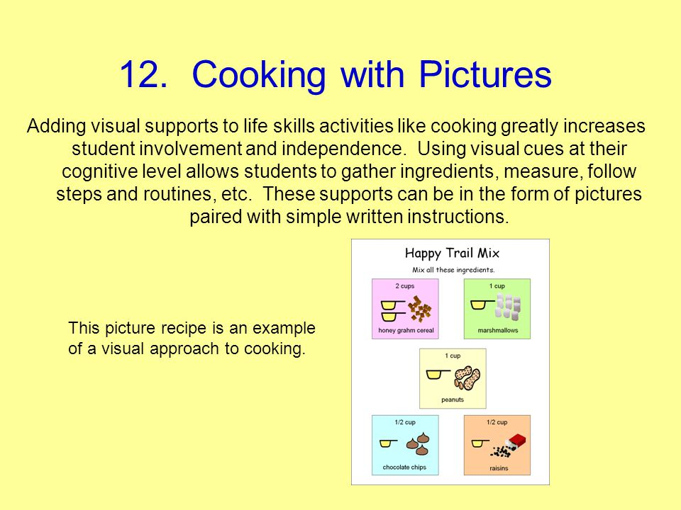 12. Cooking with Pictures