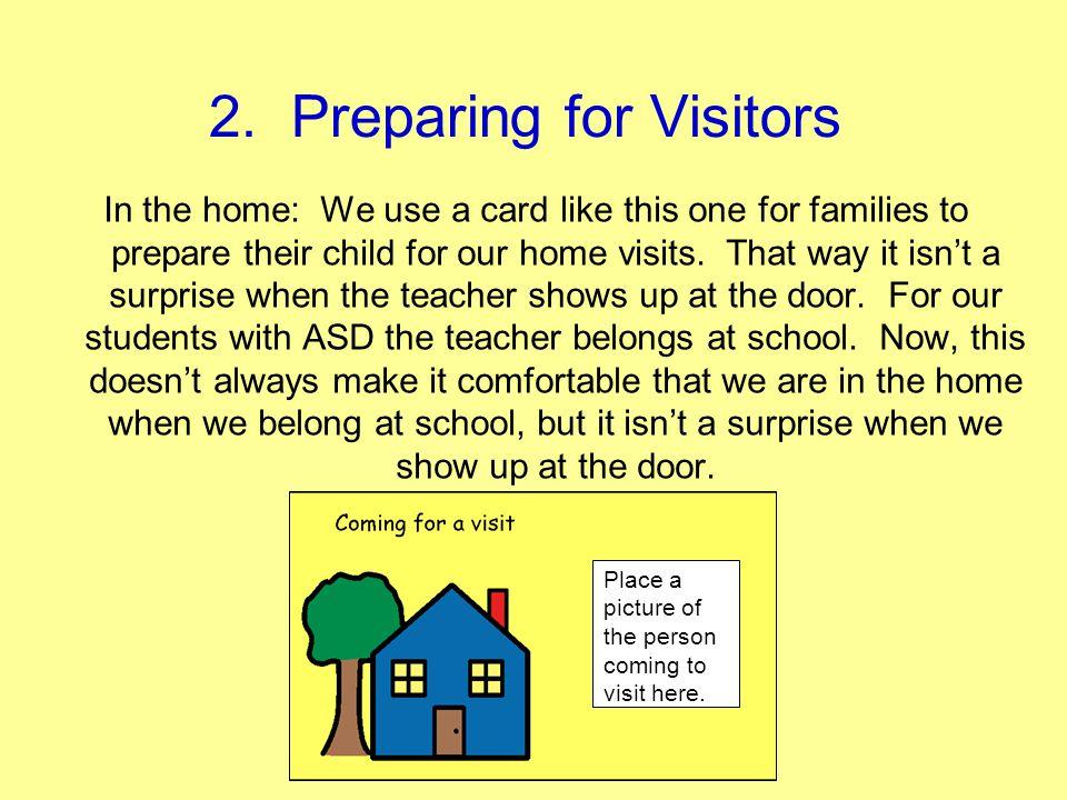 2. Preparing for Visitors