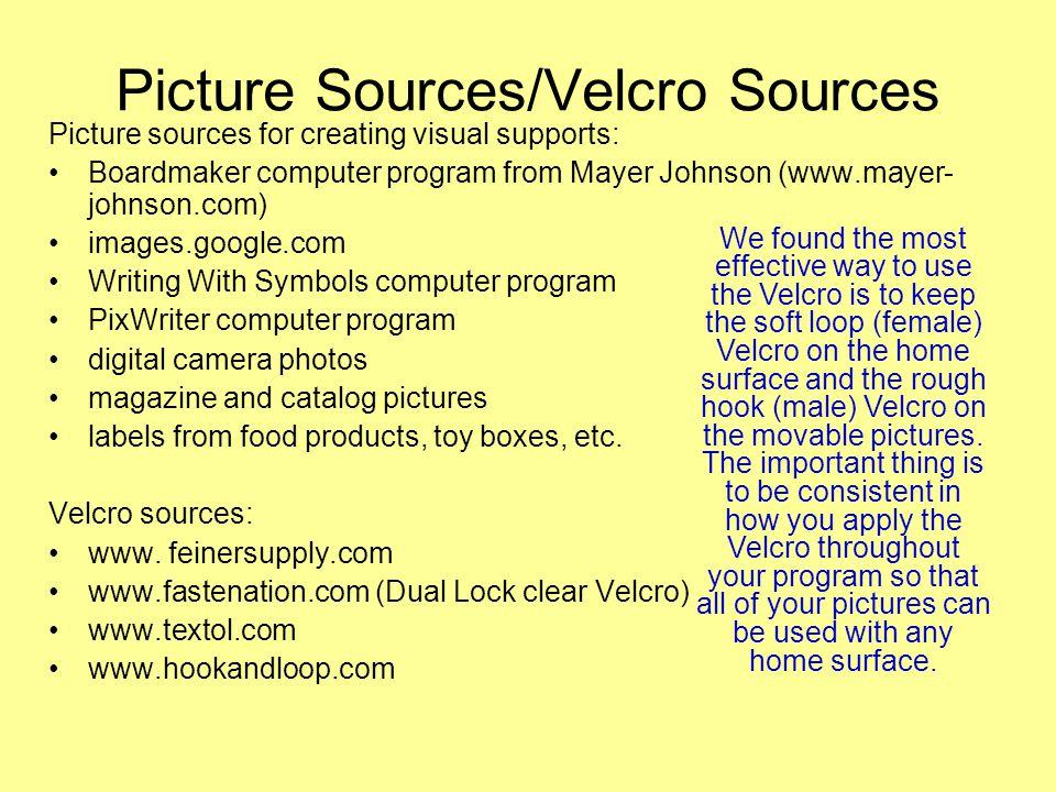 Picture Sources/Velcro Sources