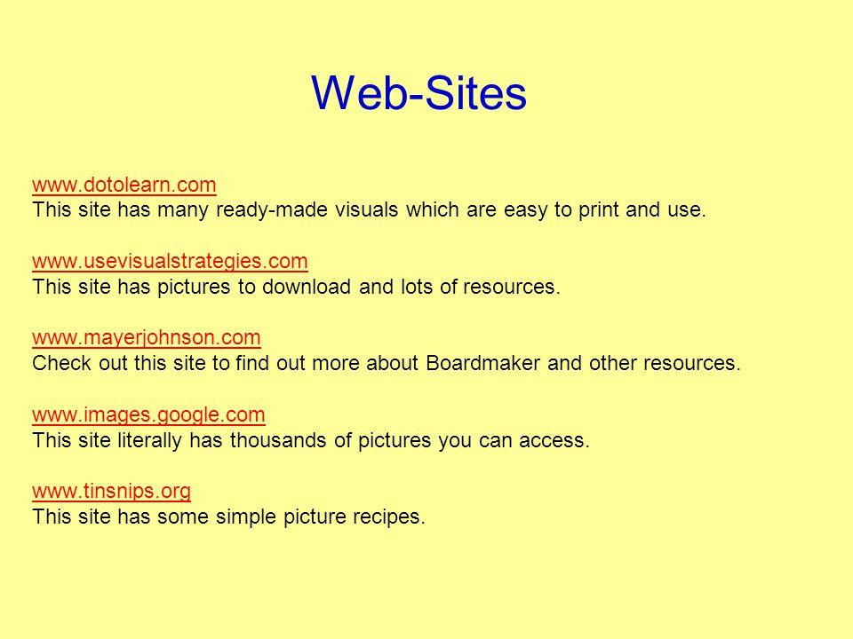 Web-Sites www.dotolearn.com