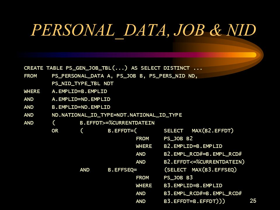 PERSONAL_DATA, JOB & NID