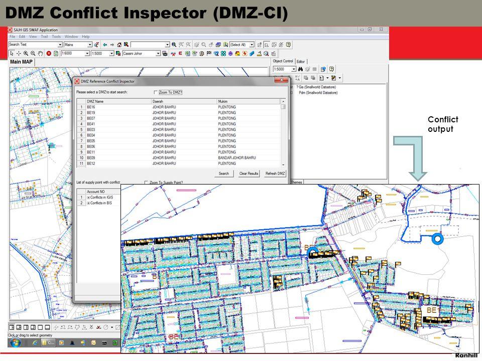 DMZ Conflict Inspector (DMZ-CI)