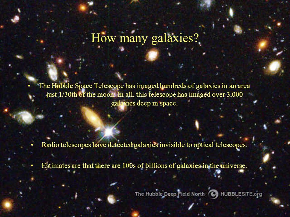 How many galaxies