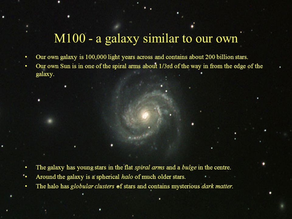M100 - a galaxy similar to our own