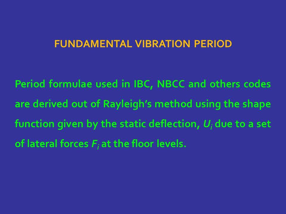 Fundamental Vibration Period