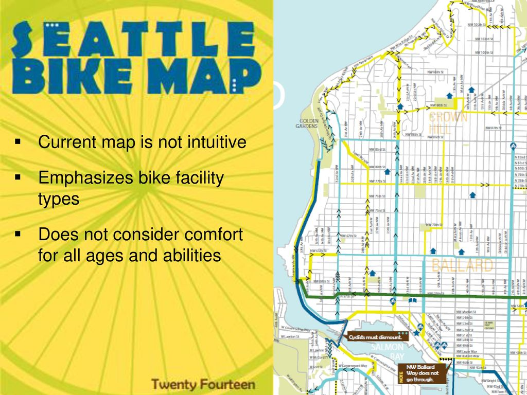 Seattle Bike Map Update - ppt download on