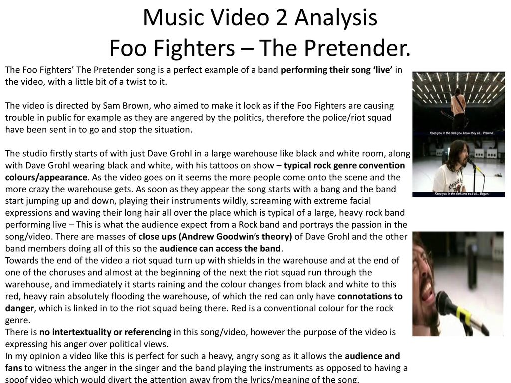 music analysis example