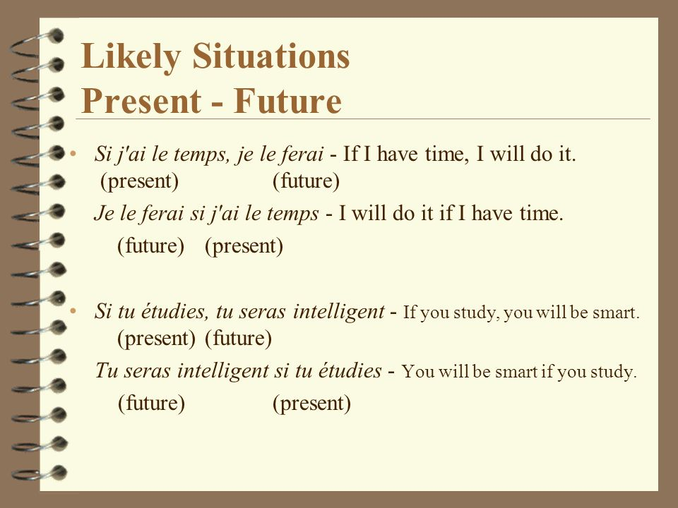 Likely Situations Present - Future