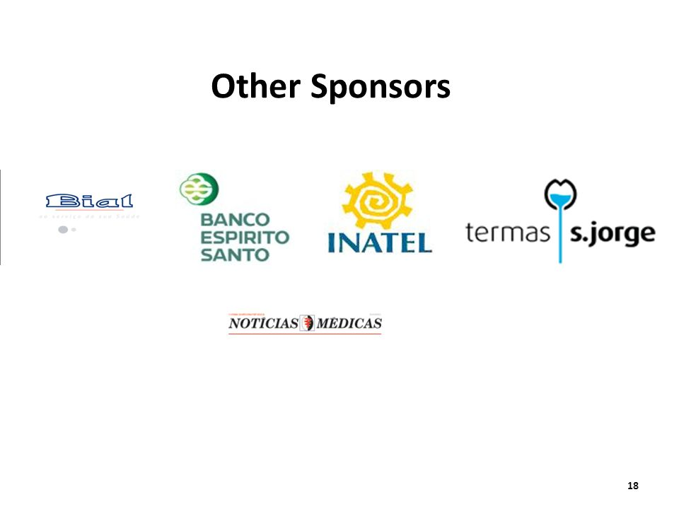 Other SponsorsAND TO THE OTHER CO SPONSORS BIAL.