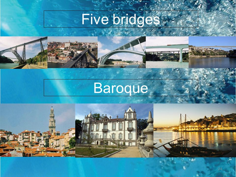 Five bridgesBaroque.