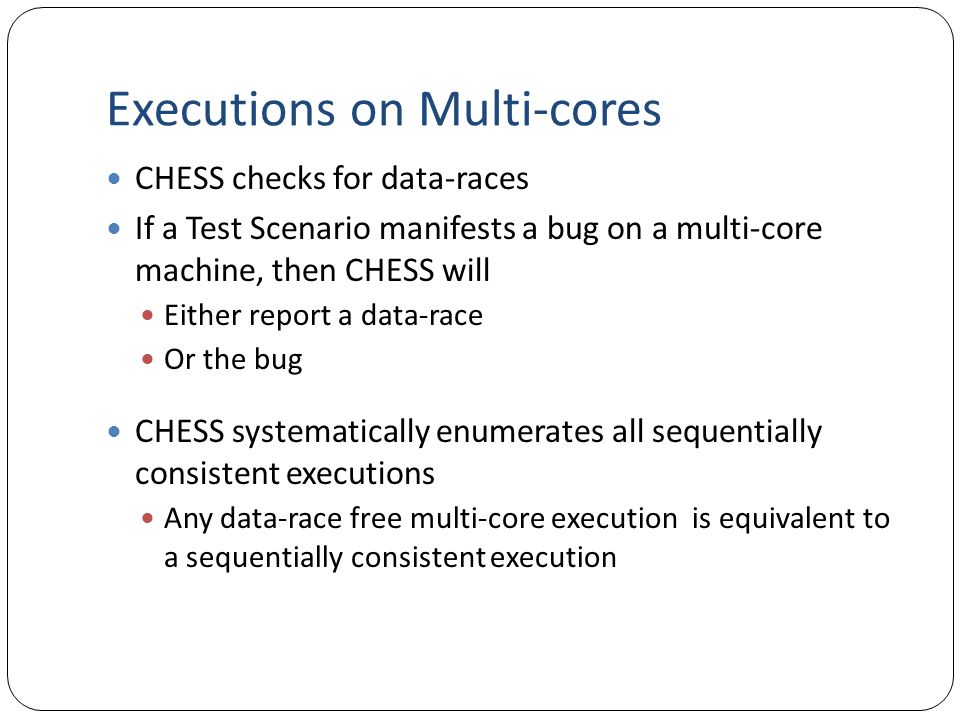 Executions on Multi-cores