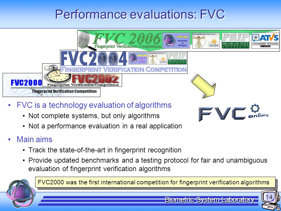 Performance evaluations: FVC-onGoing