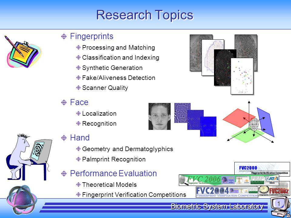 The Handbook of Fingerprint Recognition
