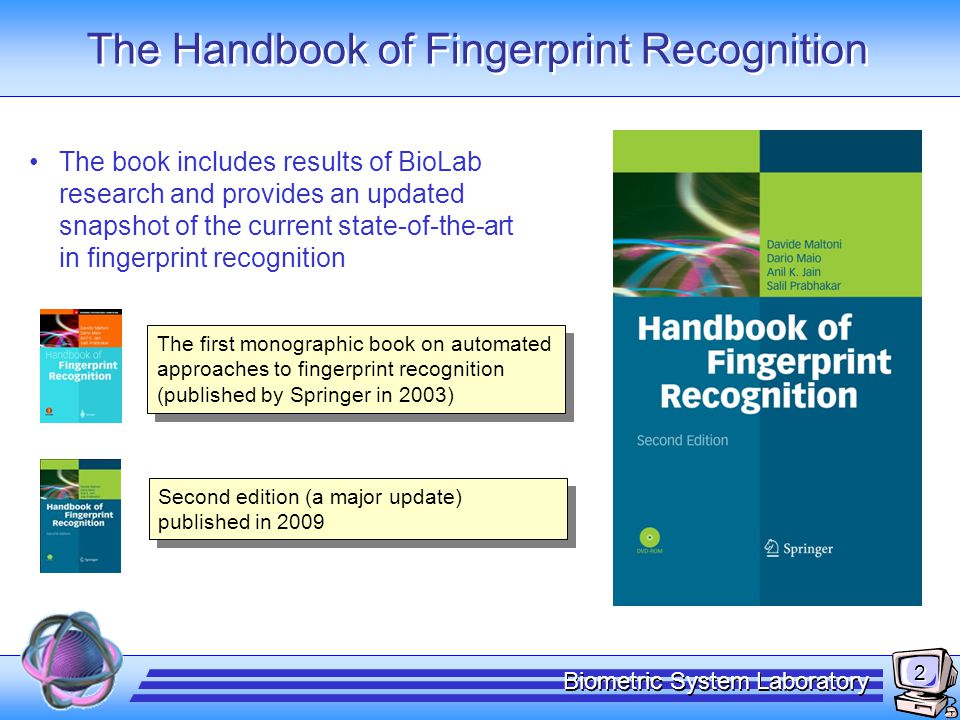 Fingerprints: minutiae detection