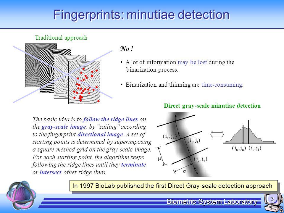 Fingerprints: MCC representation
