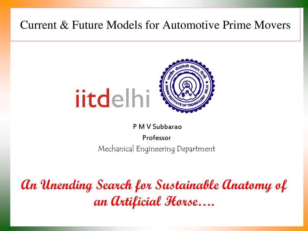 Current & Future Models for Automotive Prime Movers - ppt download
