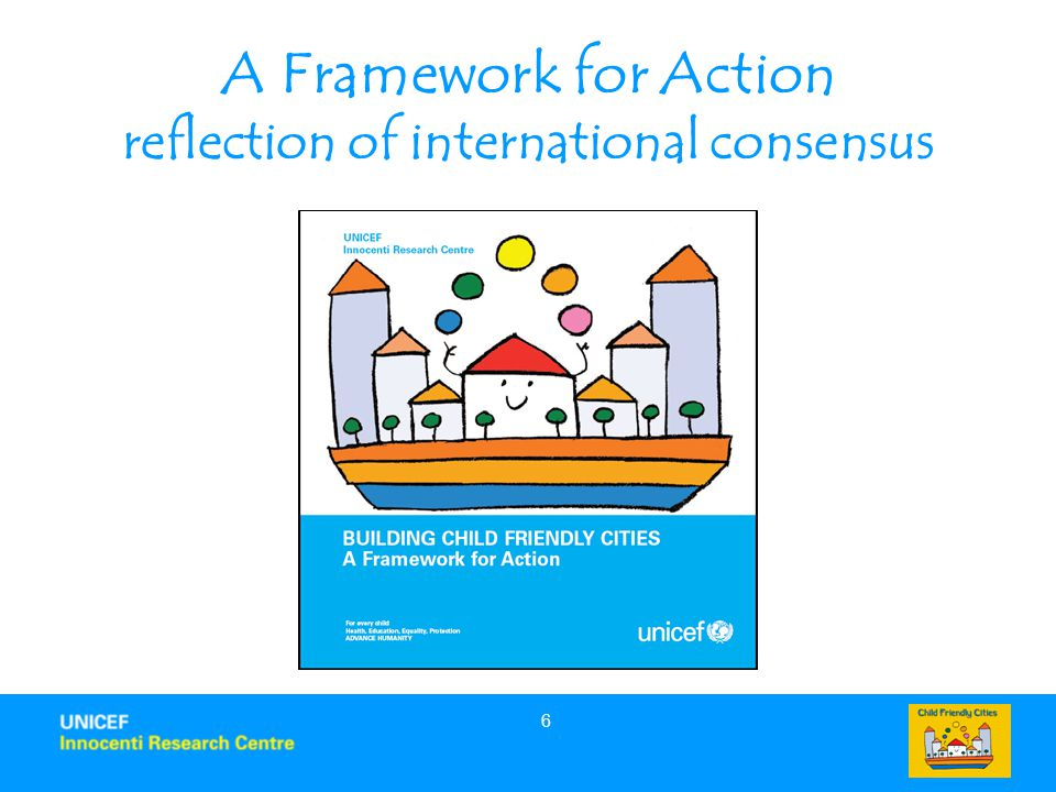 A Framework for Action reflection of international consensus