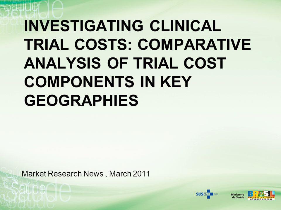 Investigating Clinical Trial Costs: Comparative analysis of trial cost components in key geographies