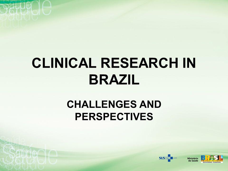 CLINICAL RESEARCH IN BRAZIL